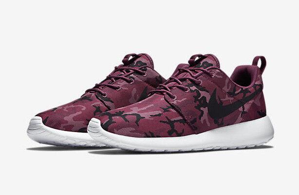 Nike Roshe Correr Zapatillas Zapatillas Correr Gimnasio Rosherun Impresión casuales-(UE 41) Villano Rojo 4dd3a4