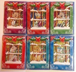 Disney 6 Cartes Bonne Annee Relief Neige Personnalisable Enveloppe Minnie Mickey Os22mnzv-07170511-975368542