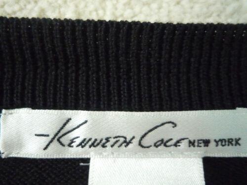 7625698786451 Cole Kenneth più nera lunga lunghezza Cardigan M e a Taglia blu 7Oqrwx7CSP