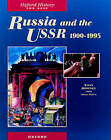 Russia and the USSR, 1900-1995 by Tony Downey, Nigel Smith (Paperback, 1996)