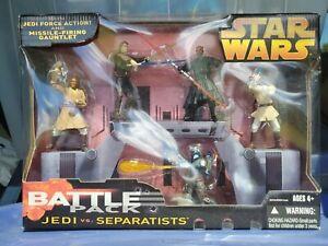 Obi-Wan|Anakin|Maul|Jango Fett|Mace Star Wars BATTLE PACK JEDI vs SEPARATISTS