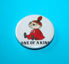 1 INCH LITTLE MY THE MOOMINS ONE OF A KIND BUTTON PIN BADGE