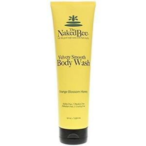 Naked Bee Velvety Smooth Body Wash 10 Oz. - Orange Blossom