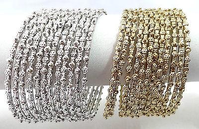 Indian Bollywood Ethnic Wedding Costume bangles bracelet Fashion Jewelry 068