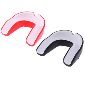 2Pcs EVA Gum Shield Mouth Guard Mouthguard MMA Boxing Rugby Teeth Protection