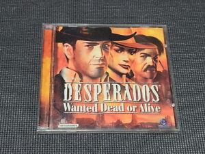Desperados Wanted Dead or Alive PC Game Korean Version Windows CD ROM Retro Rare