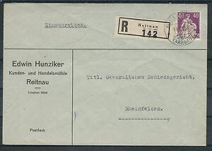 Suisse mi. Nº 208y sur r-lettre reitnau-afficher le titre d`origine Bho6kIod-07155802-862523285