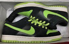 best service d0e23 4958d 2011 Nike Dunk Low Pro SB Black Chartreuse Green White J-Pack 304292-019
