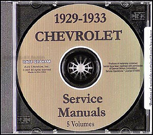 image is loading chevy-shop-manual-cd-1929-1930-1931-1932-