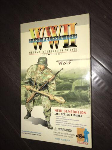 1/6 Scala Nuovo Inscatolato Drago Lupo WWII Tedesco Panzer-Grenadier Figura
