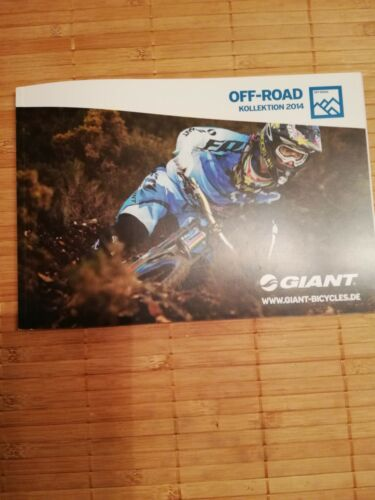 fahrradprospekt giant on-road, off-road 2014