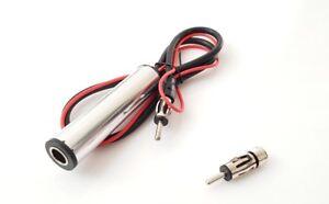 Autoradio-Antennenverstaerker-fuer-VW-Golf-4-Passat-3B-BG-DIN-Adapter