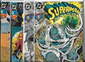 Superman-The-Man-of-Steel-18-19-20-amp-21-Lot-of-4-1992-93-DC-Comics