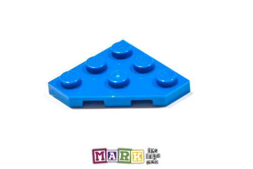 Pack of 2 New Lego 2450 3x3 45 Degree Corner Plate 4609330