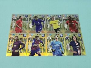Panini-Adrenalyn-XL-FIFA-365-2020-Set-5-8-x-Premium-Limited-Edition