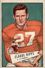 1952 Bowman Large 41 Claude Hipps EX #D313383