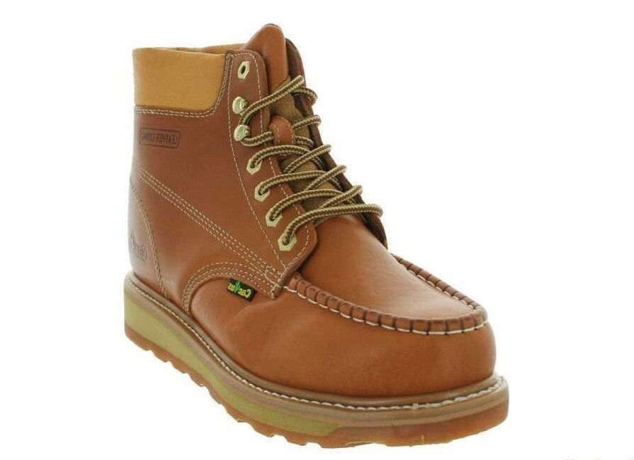 Cactus Work Stiefel 6  623M Cali Gold Genuine Leather Upper and Leather Lining NIB