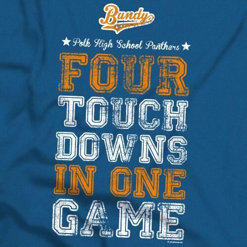 Polk High 33 t-shirt Al Bundy All stars football cases culte no ma le s-3xl