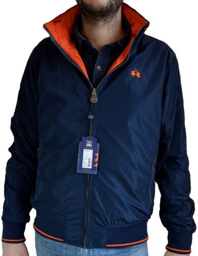 Jacket Double Face Man Long Sleeves La Martina Jacket Men Navy//Or