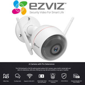 Ezviz Full Hd Wi Fi Outdoor Smart Home Security Camera 1080p 2 Way Talk Night Bn Ebay