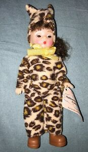McDonald-039-s-2002-Madame-Alexander-Doll-Halloween-Leopard-Costume-w-Tag