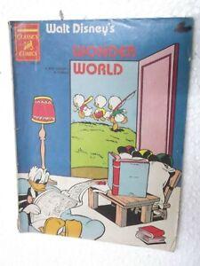 WALT-DISNEY-WONDER-WORLD-DAISY-amp-DONALD-VOL-1-NO-19-CHANDAMAMA-ENG-Comic-India