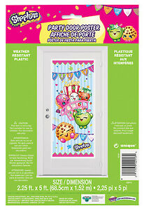 Image Is Loading Shopkins Door Decoration Happy Birthday Party Supplies Decorations