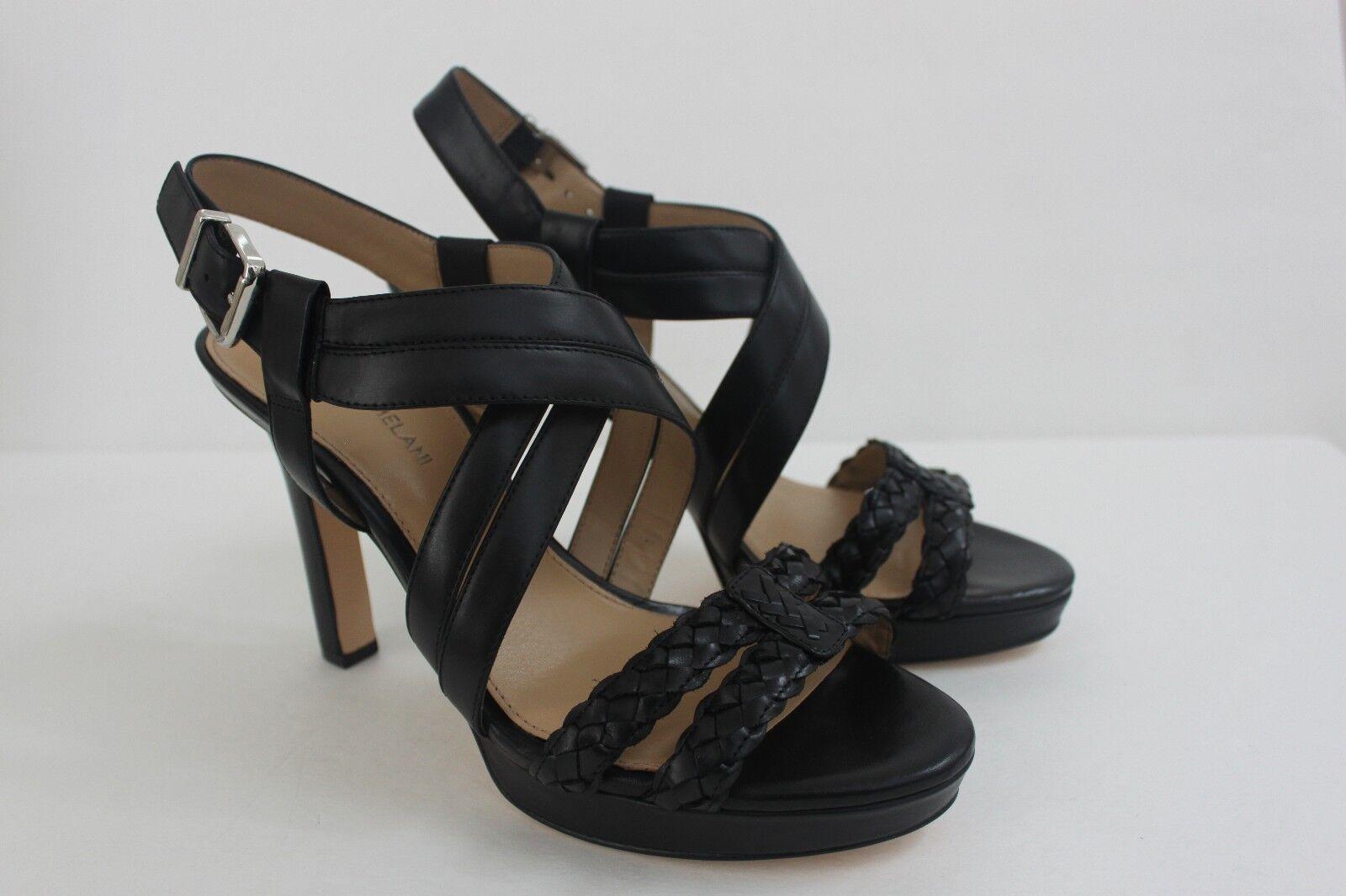 migliore qualità Antonio Melani donna Dimensione 9.5 M nero nero nero Calf Leather Woven Sandals scarpe NIB  n ° 1 online