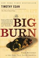The Big Burn: Teddy Roosevelt And The Fire That Saved America By Timothy Egan, ( on sale