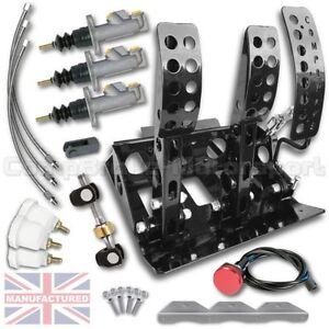 bmw e30 fernbedienung hydraulik boden befestigung pedal box kit cmb6051 hyd ebay
