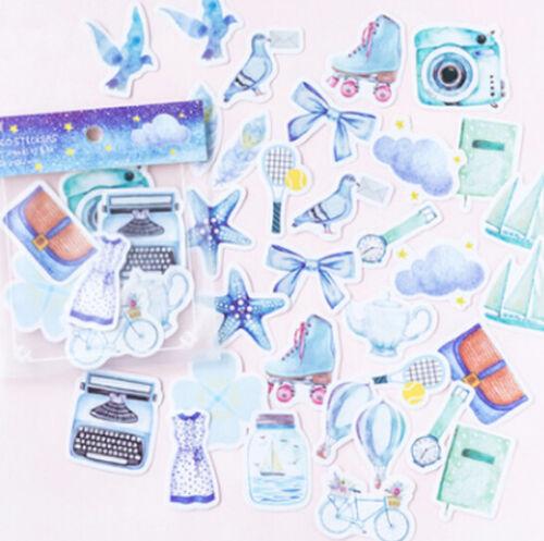 Eine Person Reise dekorative Briefpapier Aufkleber Scrapbooking  Tagebuch-Album