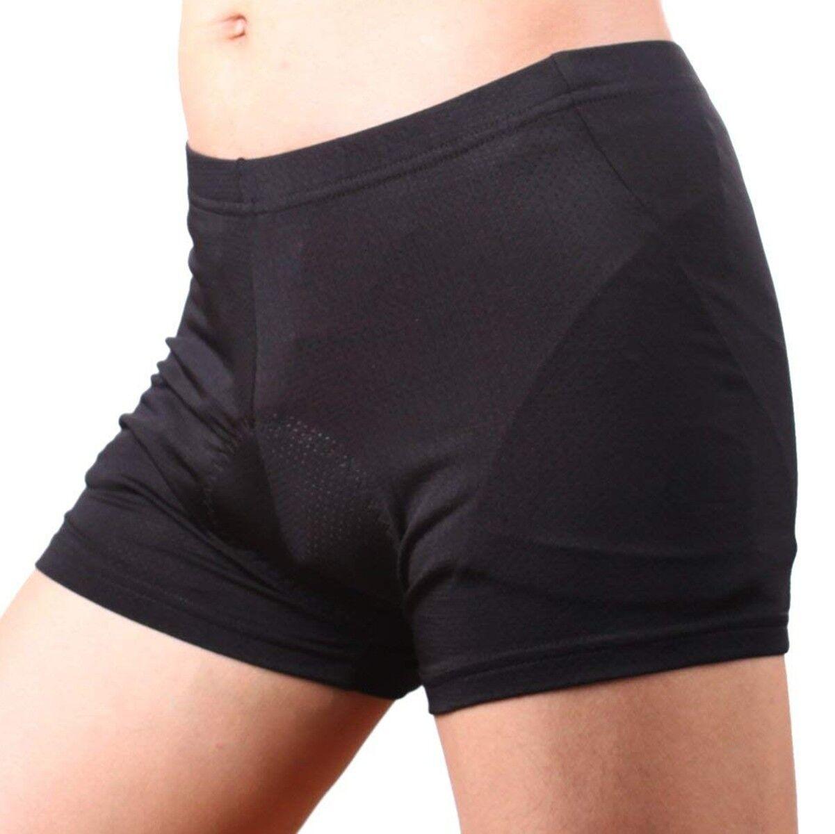 Mens Cycling Shorts Bicycle Wear Tights 4D Gel Padded Lycra Short Cycle Clothing