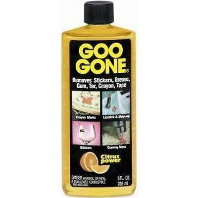 Goo Be Gone Decal Adhesive Remover Removal UK 8oz