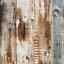 Wood Peel and Stick Wallpaper Self-Adhesive Film Vintage Wooden Panel Plank Wall