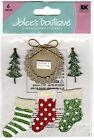 JOLEE'S BOUTIQUE Medium Stickers SEASON'S GREETINGS Christmas Scrapbooking Craft