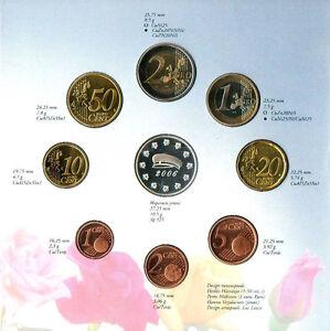 TRES RARE NEUF COFFRET EURO BU FINLANDE FIN  ETUDE 2006