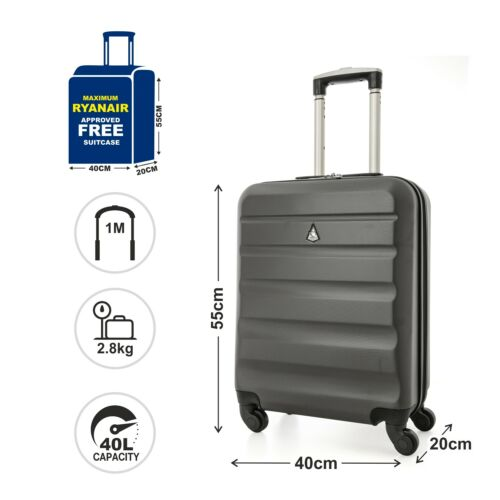 FITs Wizz Air Paid 55x40x23cm Hand Luggage Cabin Holdall Bag Suitcase Allowance