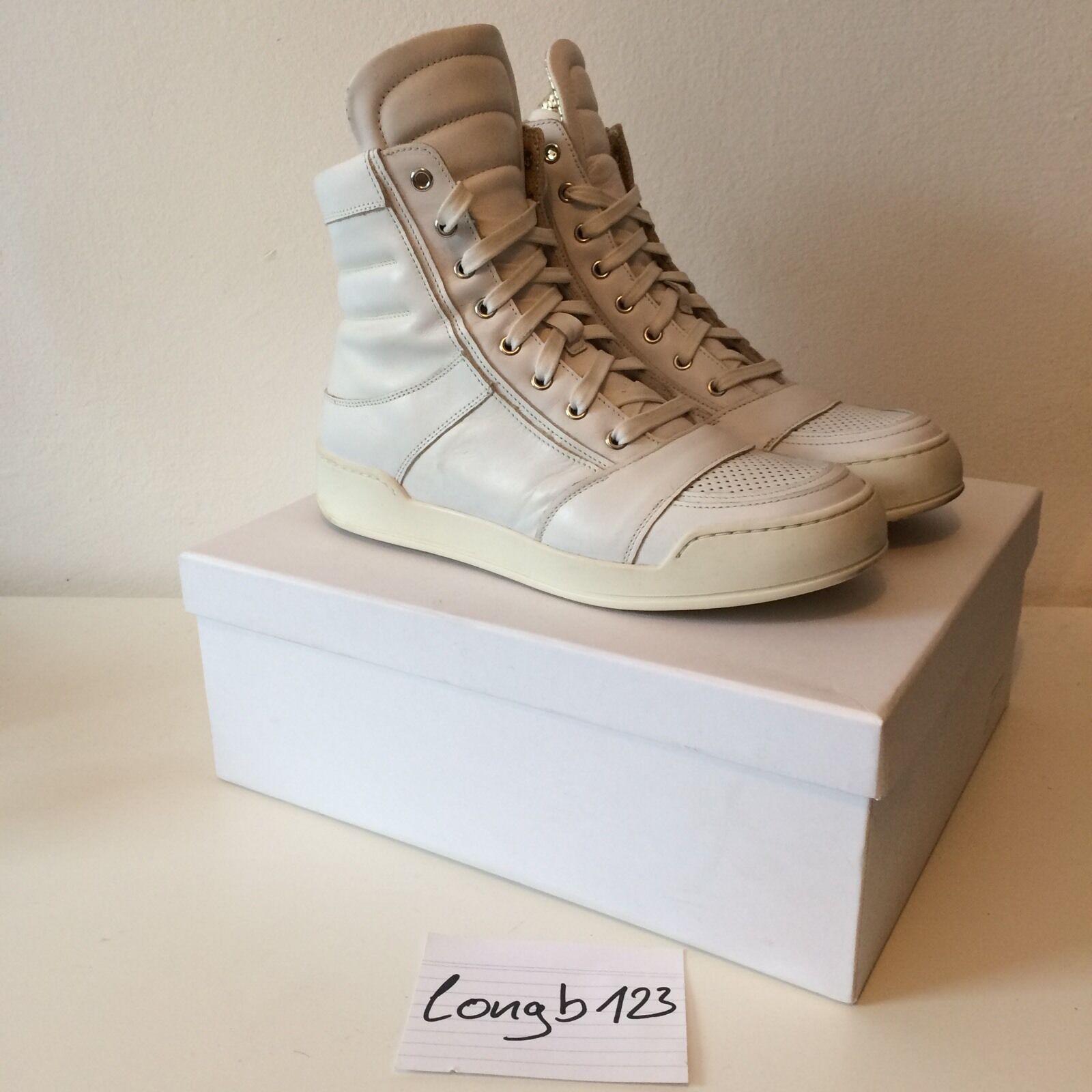 Balmain Balmain Balmain High Top Sneaker Size 41 White Kanye Yeezy be244c