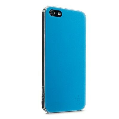 Belkin Translucent Ultra Thin Case Metallic Painted Back for iPhone SE 5S 5