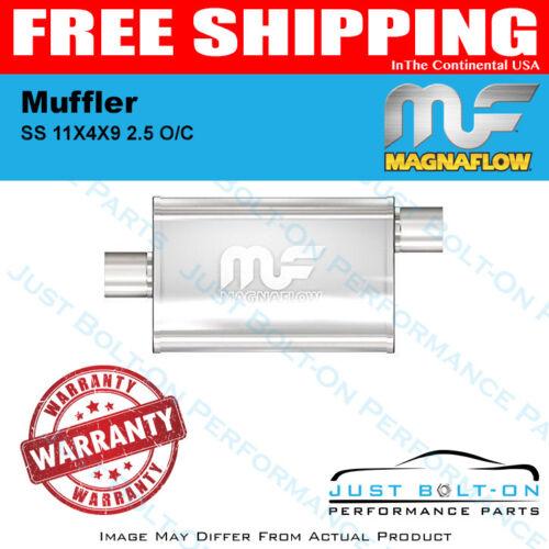 #11366 Magnaflow Muffler Mag SS 11X4X9 2.5 O//C