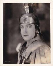 FRANCIS X BUSHMAN Original Vintage 1925 BEN HUR Clarence Bull MGM Portrait Photo