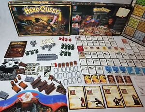 HeroQuest-board-game-Prime-condition-unpainted-complete-Hero-Quest-ENG-1989