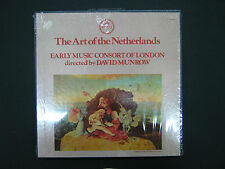 Art of the Netherlands Early Music Consort of London David Munrow Sealed 3LP