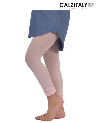 Leggings bambina in MICROFIBRA elasticizzati, pantacollant BIMBA balze 50 den