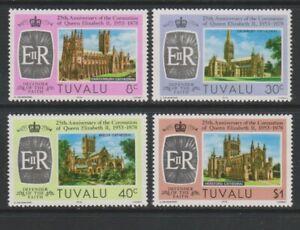 Tuvalu - 1978, Coronation set - MNH - SG 89/92