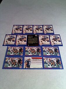 Lyle-Bauer-Lot-of-23-cards-3-DIFFERENT-Football-CFL
