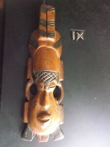 Old African Wooden Mask