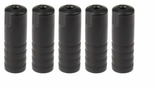 5 x Shimano SIS-SP40 SEALED Outer End Cap 6mm for 4mm Gear Cable Ferrule