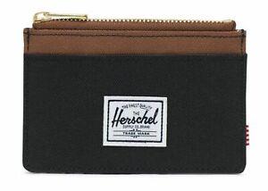 Herschel-Oscar-RFID-Wallet-Black-Saddle-Brown