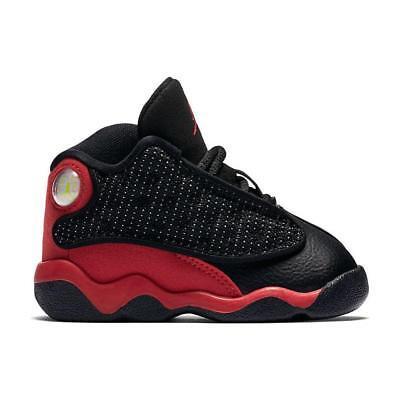 super popular ffcbb dcaba Nike Air Jordan 13 XIII Retro BT Bred Black Red 414581-004 Toddler Size 6C  | eBay
